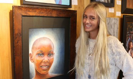 We are so proud of Lauren S.! Her art piece got selected for the exhibition at Las Laguna Art Gallery